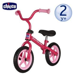 【chicco】幼兒滑步車-粉