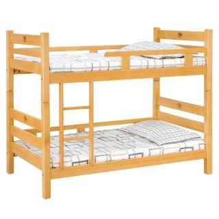 【顛覆設計】森林檜木3尺雙層床(不含床墊)