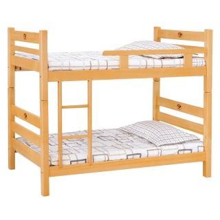 【顛覆設計】森林檜木3尺單欄雙層床(不含床墊)