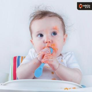 【拉孚兒 naforye】食在安全 軟質學習湯匙-城堡(貴族黃/王子藍/公主粉)