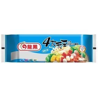 【鮮食家任選799】龍鳳 四大天王冷凍日式火鍋料(373g/包)