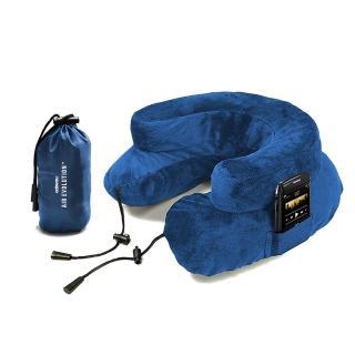 【CABEAU】專利進化護頸充氣枕 藍色