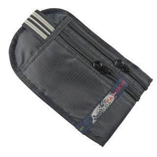 【PUSH!嚴選】5艙室 防搶包 防盜腰包 護照包 隱形貼身腰包(黑色FASHION)