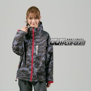 【OutPerform雨衣】賽克超潑水兩截式風雨衣(機車雨衣、戶外雨衣)