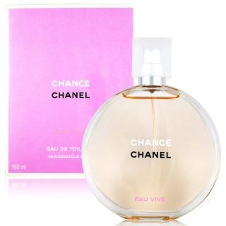 【CHANEL 香奈兒】CHANCE 橙光輕舞 女性淡香水EDT 100ml(贈禮品袋)