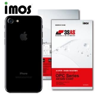 【iMOS 3SAS】Apple iPhone 7 疏油疏水 背面保護貼