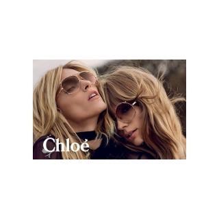 【CHLOE】-太陽眼鏡 廣告款CE121S-785(玫瑰金)