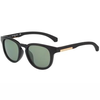 【Calvin Klein Jeans】-復古太陽眼鏡(黑色)