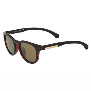 【Calvin Klein Jeans】-復古太陽眼鏡(琥珀色)