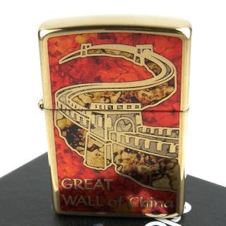 【ZIPPO】美系-Great Wall of China-中國萬里長城圖案設計打火機