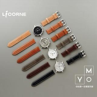 【LICORNE  MYO系列】率性搭配個性自我腕錶