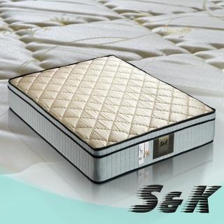 【S&K】防蹣抗菌 蜂巢式獨立筒床墊-單人3.5尺