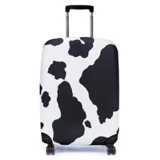 【Bibelib】行李箱套-瑞士乳牛(適用26-31吋行李箱)