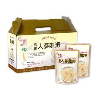 【韓味不二】人蔘雞粥(280g*10入)