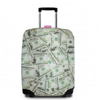 【Suitsuit】行李箱套-美鈔滿天飛(適用24-28吋行李箱)