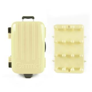 【iGimmick】3C線材收納盒- 米白行李箱