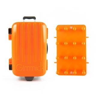 【iGimmick】3C線材收納盒- 橘色行李箱