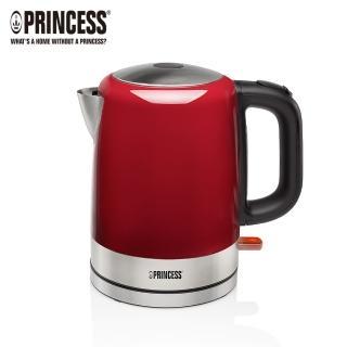 【Princess荷蘭公主】1L不鏽鋼快煮壺-紅(236000R快速到貨)