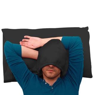 【Hoodie Pillow】連帽枕頭套 黑色