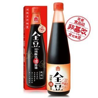 【義美】全豆純釀造滷醬油(520ml/瓶)