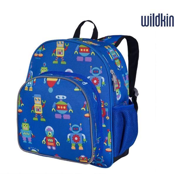 【美國Wildkin】幼兒後背包-寶寶書包(40112機器人總動員)