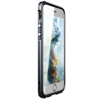 【GINMIC】iPhone 7 4.7 傳奇系列金屬邊框加透明後背蓋保護殼