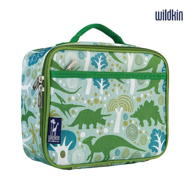 【美國Wildkin】保冰保溫袋-萬用袋(33313小迪諾恐龍)