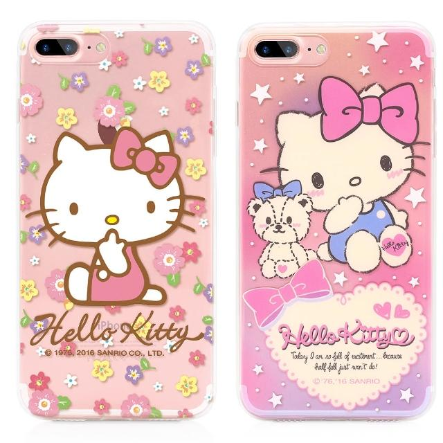 【GARMMA】Hello Kitty iPhone 7軟式保護殼