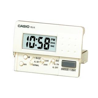【CASIO】簡單基本必備數位電子鬧鐘(PQ-10-7)
