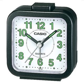 【CASIO】輕巧桌上型鬧鐘(TQ-141-1)