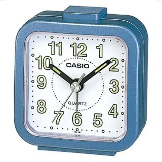 【CASIO】輕巧桌上型鬧鐘(TQ-141-2)
