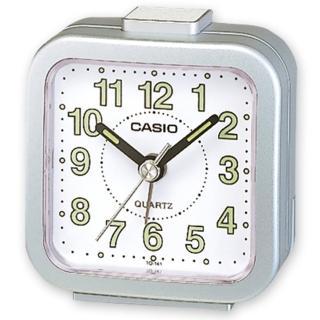 【CASIO】輕巧桌上型鬧鐘(TQ-141-8)