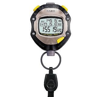 【CASIO】專業防水運動碼錶(HS-70W-1)