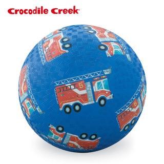 【美國Crocodile Creek】7吋兒童運動遊戲球(消防車)
