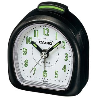 【CASIO】螢光數字輕便桌上型鬧鐘(TQ-148-1)