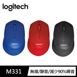 【Logitech 羅技】M331 SilentPlus 靜音滑鼠