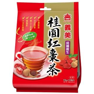 【義美】桂圓紅棗茶(10g x 18小包)