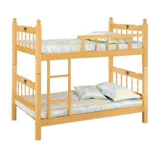 【Bernice】傑斯3尺雙層床架(單欄型)