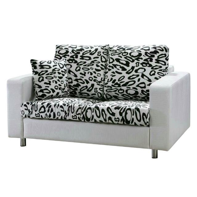 【Bernice】凱倫雙人座鱷紋皮沙發(送抱枕)