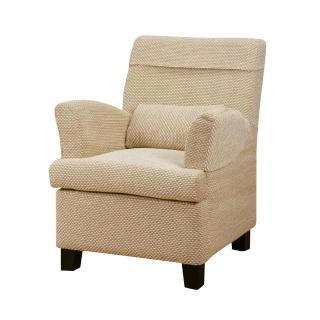【Bernice】布倫達單人座布沙發椅