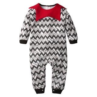 【baby童衣】連身衣 造型翻領刷毛爬服 不倒絨 60279(共1色)