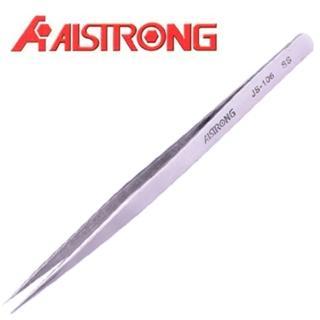 【ALSTRONG】不鏽鋼無磁長尖鑷子TZ-106
