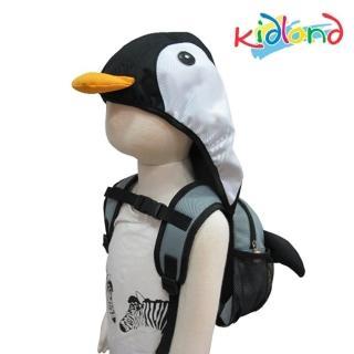 【kidland】動物造型防走失連帽後背包(企鵝)