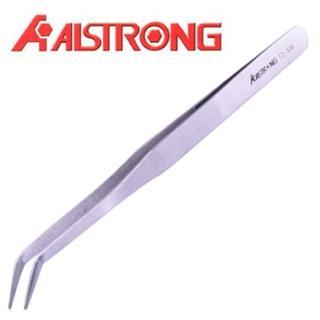 【ALSTRONG】不鏽鋼長彎鑷子 TZ-108
