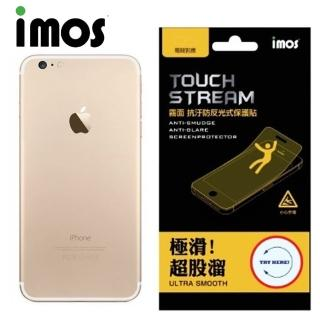 【iMOS Touch Stream】Apple iPhone 7 電競 霧面 背面保護貼