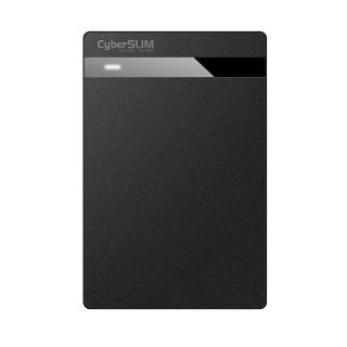 【CyberSLIM】CyberSLIM V25U3 2.5吋 硬碟外接盒 USB3.0(CyberSLIM V25U3)