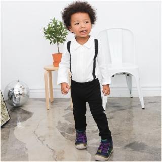 【baby童衣】套裝 小西裝型軟帽+假吊帶包屁衣+長褲3件套 60195(共2色)