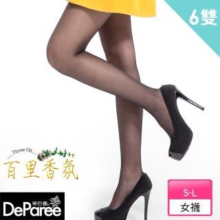 【蒂巴蕾Deparee】百里香氛彈性絲襪(6入)