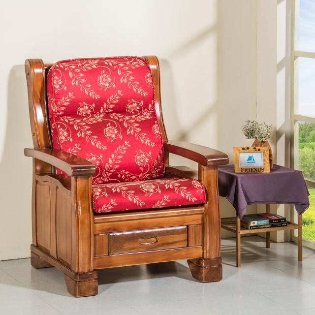 【CLEO】全開式拉鍊-背高74公分-防潑水緹花布-乳膠皮-沙發坐靠墊(3入)