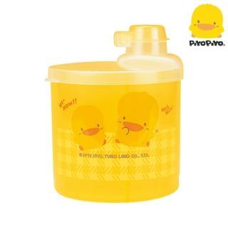 【黃色小鴨 Piyo Piyo】半透明四格奶粉罐